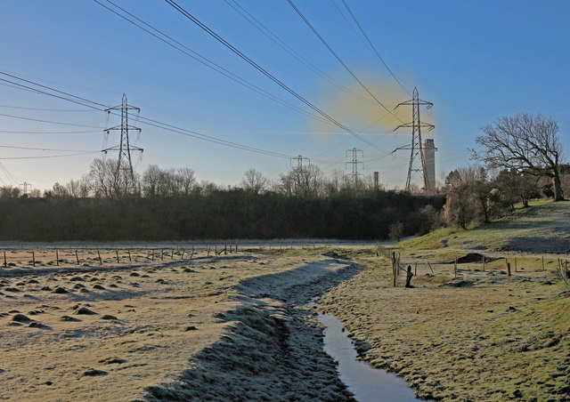 River Thaw and Aberthaw Power Station