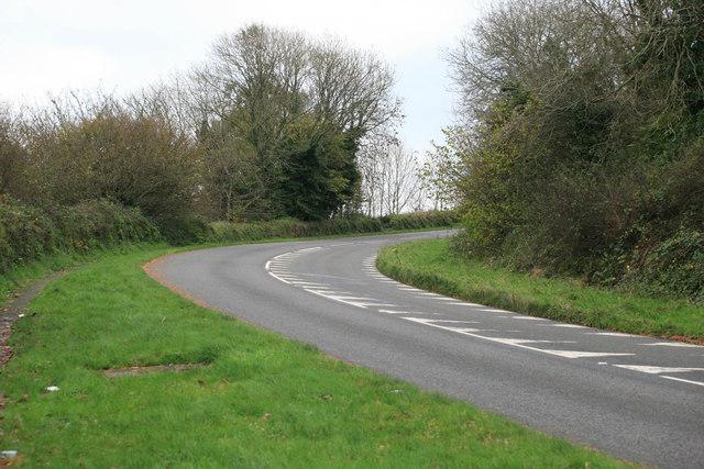 Polmear Hill the A3082