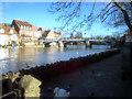 SU9677 : Windsor Bridge and River Thames by John Sparshatt