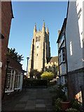 TQ8833 : The church of St. Mildred, Tenterden by pam fray