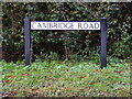 TL2759 : Cambridge Road sign by Adrian Cable