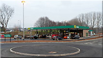 ST2995 : New Morrisons Refuel, Cwmbran by Jaggery