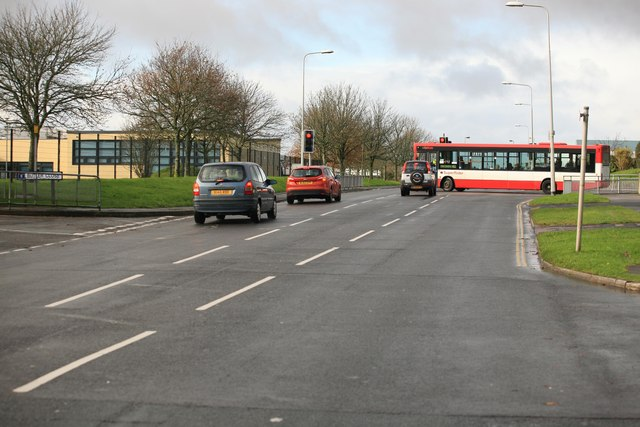 Traffic at Southway