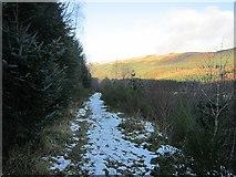 NN5810 : Path near Stank by Richard Webb