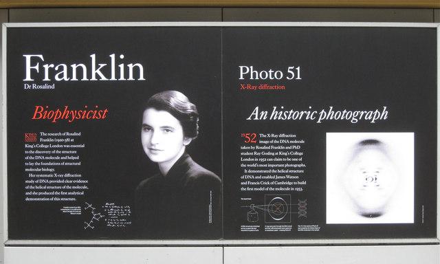 Dr Rosalind Franklin and Photo 51
