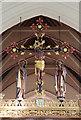 TQ2388 : Christ Church, Brent Street, Hendon - Rood by John Salmon