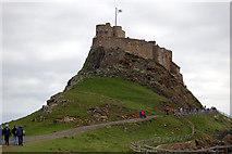 NU1341 : Lindisfarne Castle by John Sparshatt