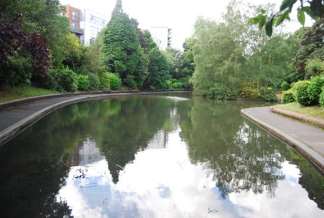 Lake, Grosvenor Park