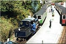 SH6441 : Ffestiniog Railway at Tan-y-bwlch by M J Richardson