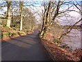 NM8602 : Road by the side of Loch Ederline by sylvia duckworth