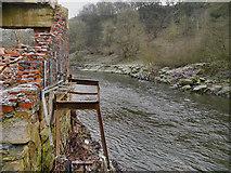 SD7506 : River Irwell, Creams Paper Mill by David Dixon