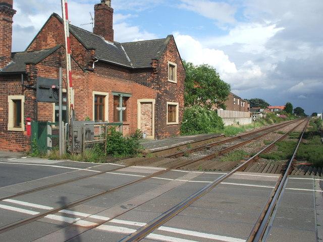 Hemingbrough railway station (site), Yorkshire