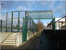 TQ2871 : Footpath to Ramsdale Road by David Anstiss