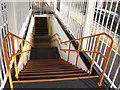 TQ3468 : Overground orange by Stephen Craven