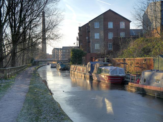 Ashton Canal, Ashton-Under-Lyne