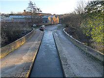 SJ9398 : Dukinfield Aqueduct by David Dixon