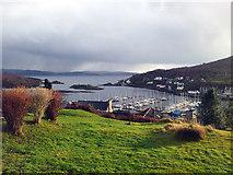 NR8668 : The View From Lady Ileene Road, Tarbert by Steve Partridge