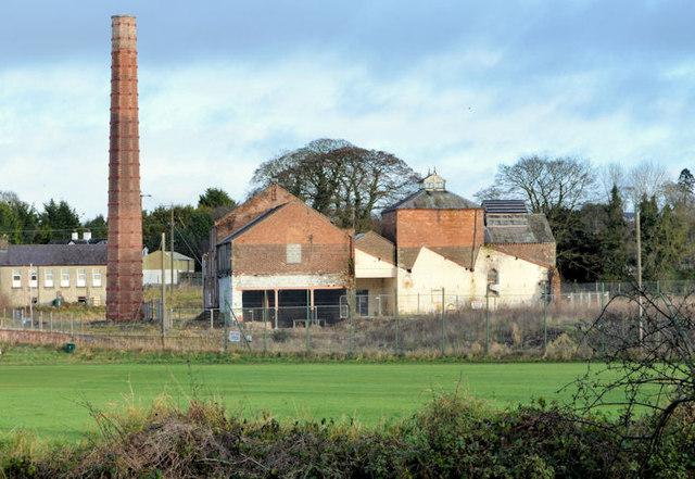 Former Ewart Liddell factory, Donaghcloney (2012-1)