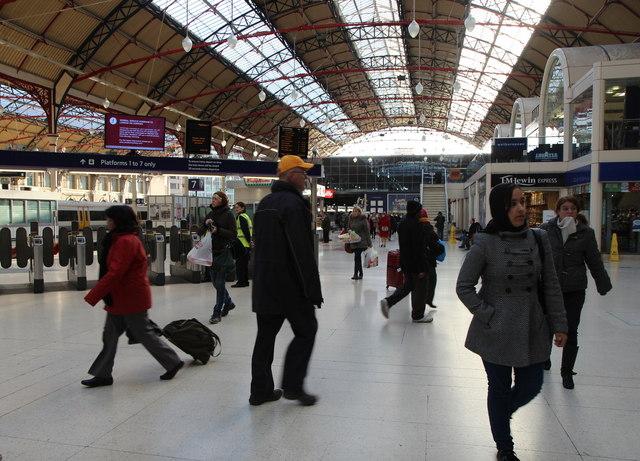 Victoria Station, London SW1