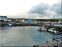 NW9954 : Storm clouds brewing over Portpatrick by Ann Cook