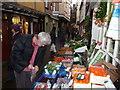 SO5174 : Side-street in Ludlow by Jeremy Bolwell