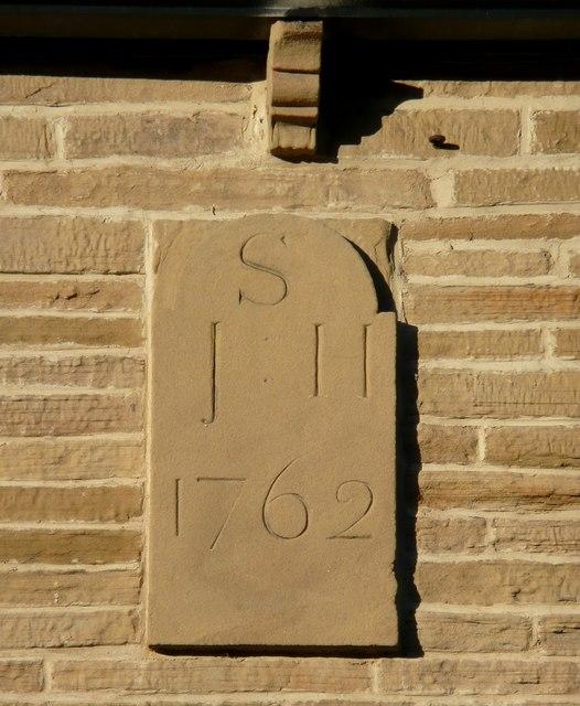 Date stone, 1762, Midgley Road, Mytholmroyd