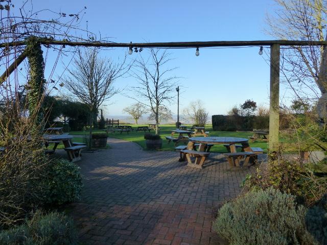 The Windwhistle Inn beer garden