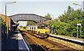 SJ6590 : Birchwood station, 1995 by Ben Brooksbank