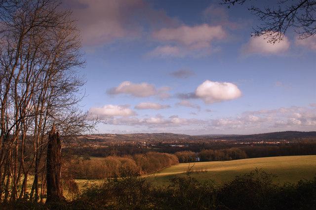 Merstham from Gatton