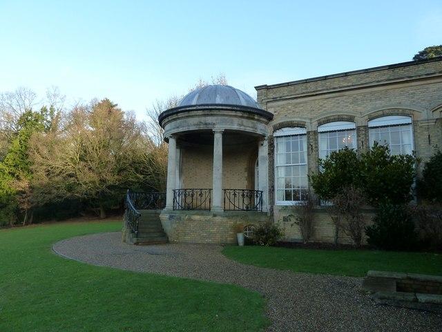 Doric temple, Ponsbourne Park