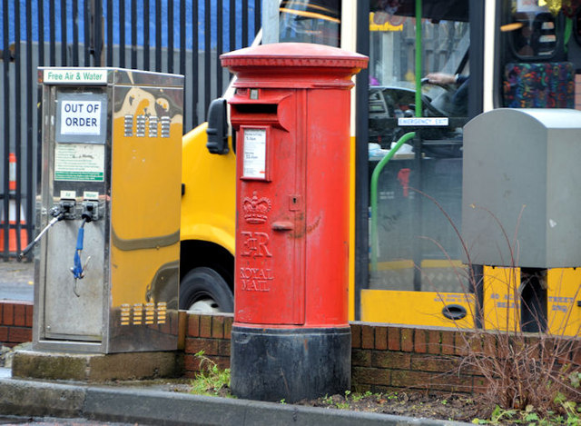 Pillar box and drop box, Finaghy, Belfast