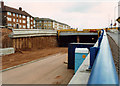 SJ9242 : West end of Meir tunnel A50 (during construction) by Chris Beaver