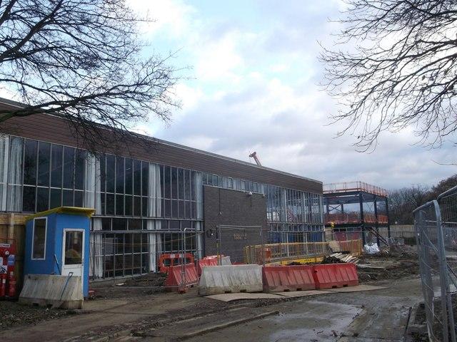 Old Building, New Building - Burntwood School, Wandsworth