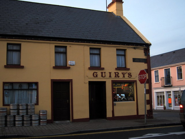 Foxford: Guiry's Bar