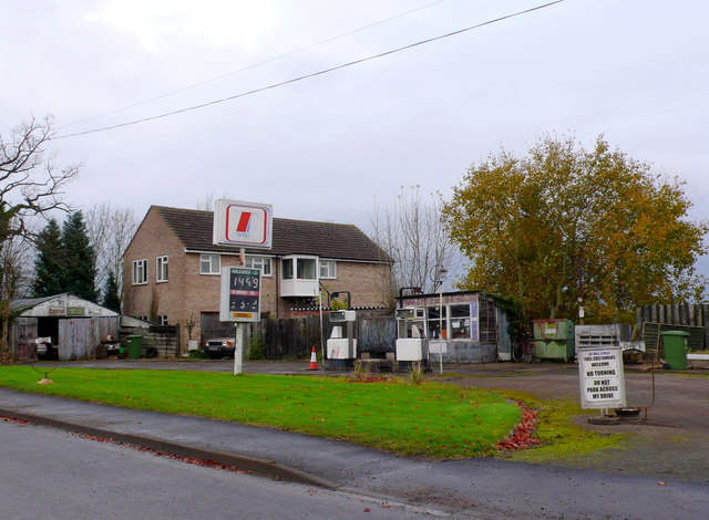 Petrol Station (sort of) Harbury
