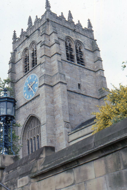 Bradford Cathedral: west tower