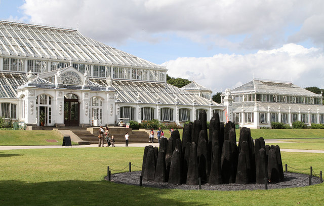 David Nash at Kew