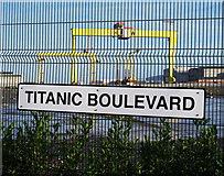 J3574 : Titanic Boulevard, Belfast by Rossographer