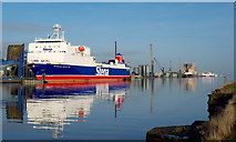 J3475 : The Victoria Channel, Belfast by Rossographer