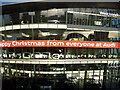 TQ1778 : Happy Christmas from Audi by Des Blenkinsopp