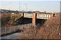 NT2975 : Railway Bridge by Anne Burgess
