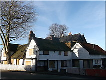 TQ4084 : The Spotted Dog Public House, Upton by David Anstiss