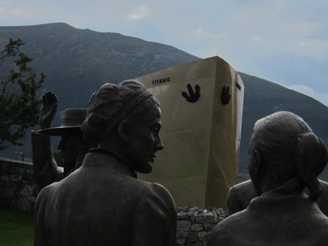 Lahardane: Addergoole Titanic Memorial Park (2)
