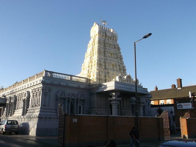The London Sri Murugan Temple Little 169 David Anstiss