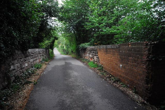 Railway overbridge, Oxenhall Lane
