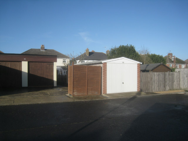 Garages behind Winchester Road