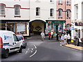 SX8851 : Kingswear Post Office Scene by Gordon Griffiths