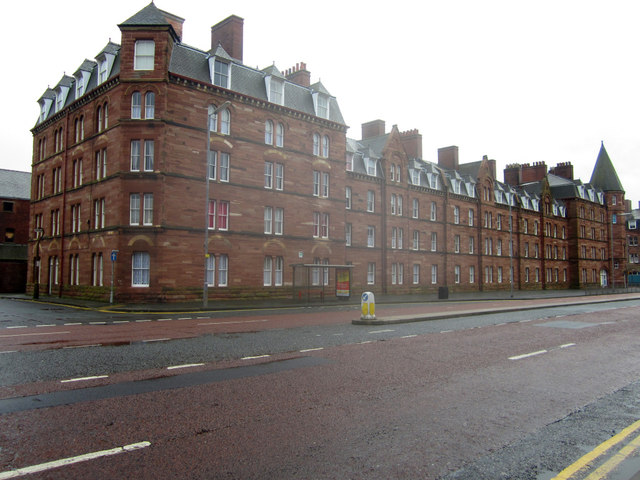 Devonshire Buildings, Barrow Island