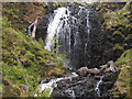 NG8274 : Waterfall on Easan Bàna by Trevor Littlewood