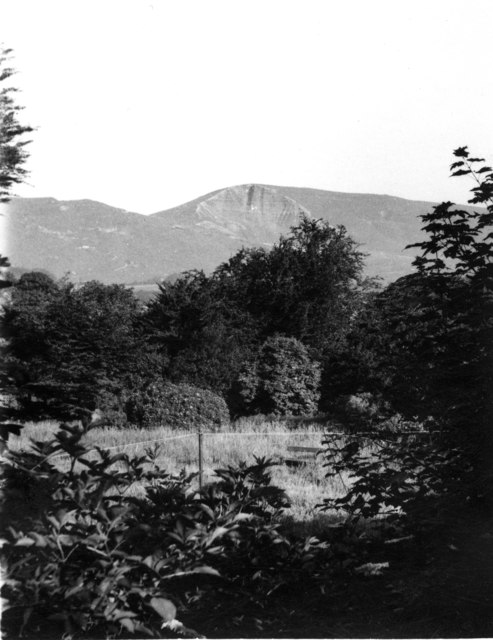 The view from the Youth Hostel - 1957